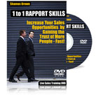 1 to 1 Rapport Skills DVD Video Sales Training Course