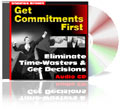 Get Commitments First Sales Training Course CD
